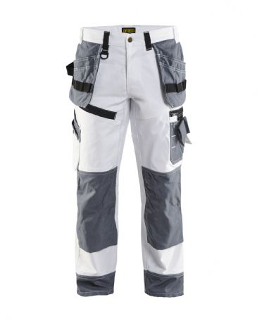 CLEARANCE Blaklader 1510 Painter Trouser X1500 (White/Grey) C56 40W 33L